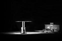 Midnight at Panamint Springs