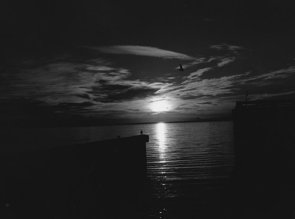 Sunrise, Fort Worden, WA