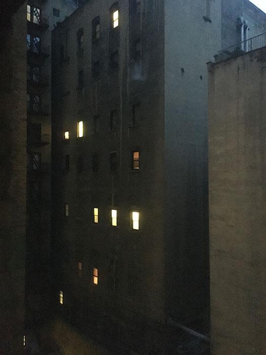 Daybreak in the Courtyard