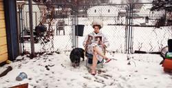 Backyard Beauty Salon (with Dog)