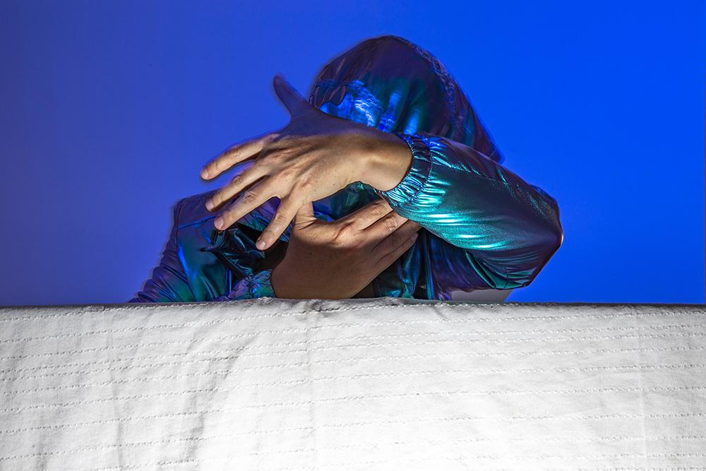 Blue Mistrust