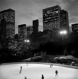 Contrast: Wollman Rink, Central Park