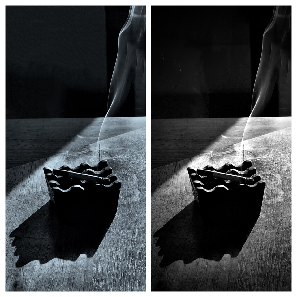 Cigaret diptych