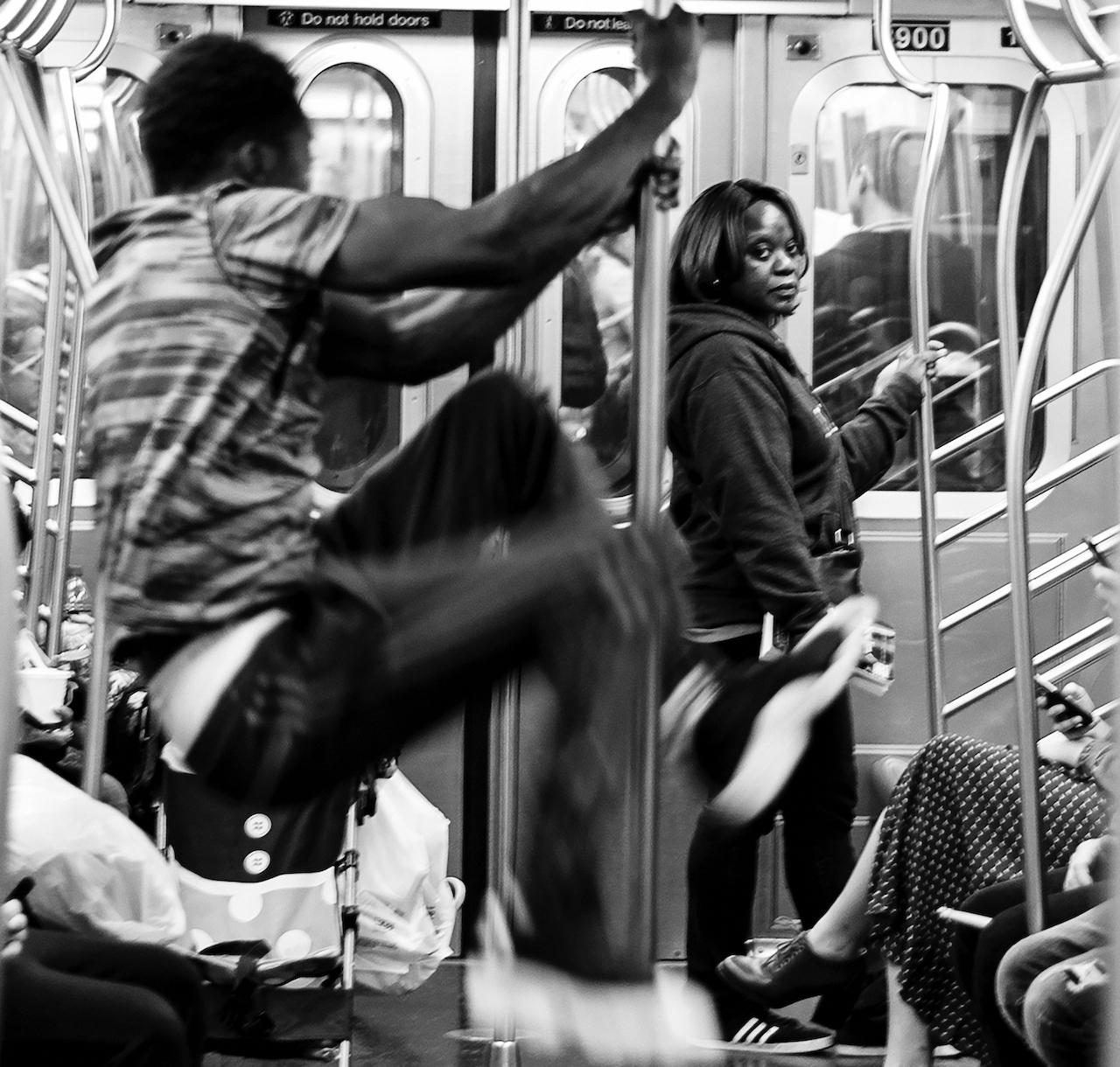 Subway Pax De Deux