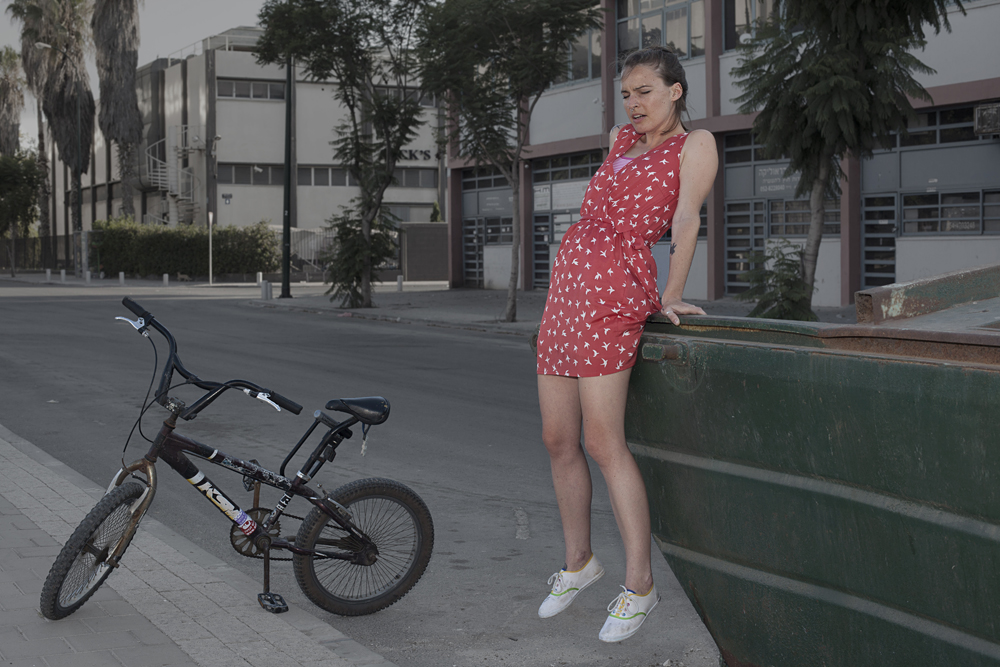 Tel Aviv's Girl with Bicycle