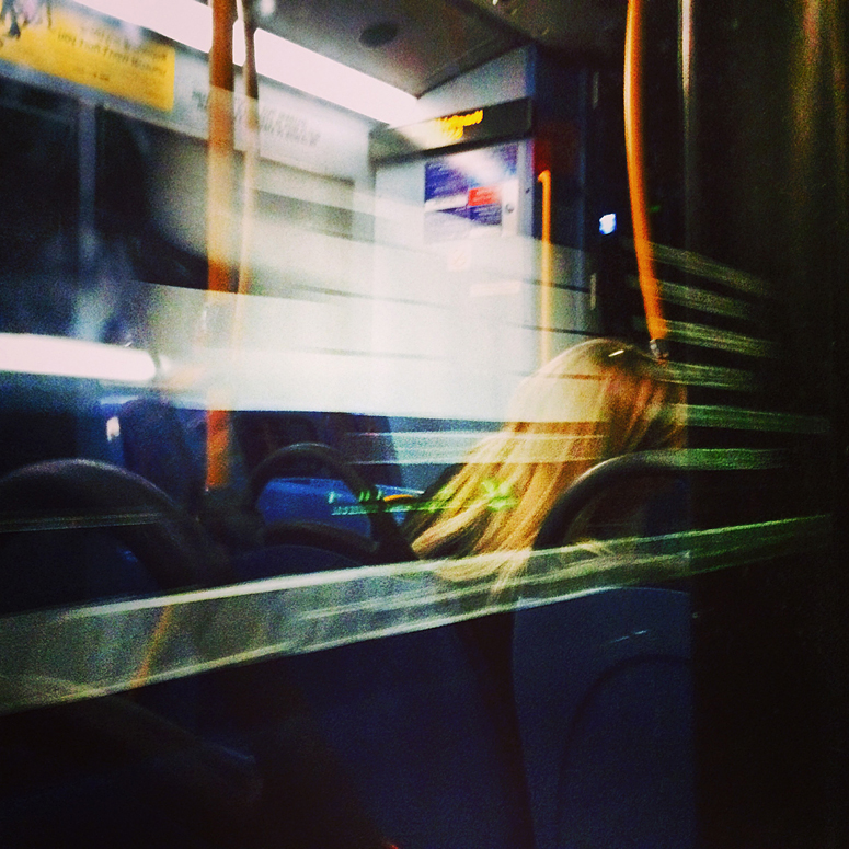 No. 46 Bus (night), London