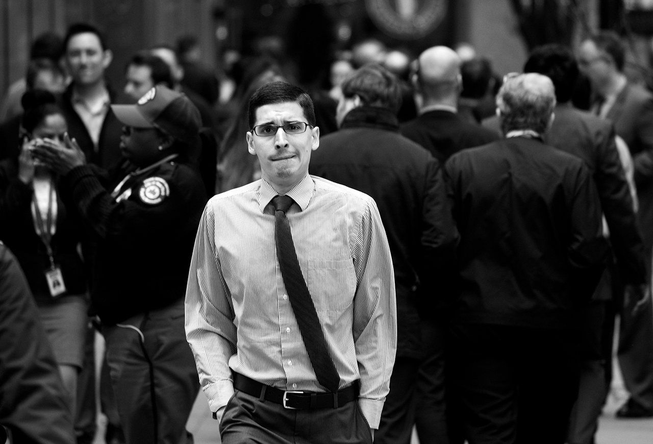 Man in Wall Street