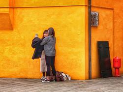 Selfies in Burano