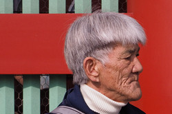 Man With Silver Hair, Tokyo