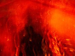 The burning self