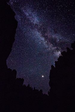 Milky Way over Wall Street