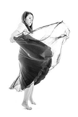 Pleated skirt swing