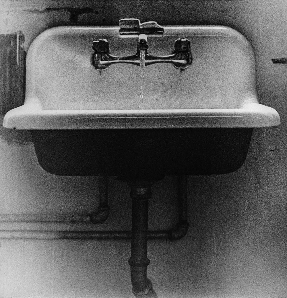 Sink With Running Water