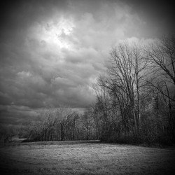 Field with Clouds at Vassar Farm
