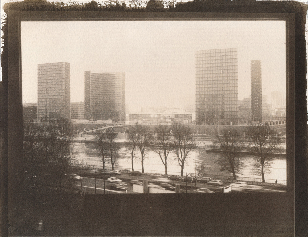 Paris, National Library (gum bichromate)