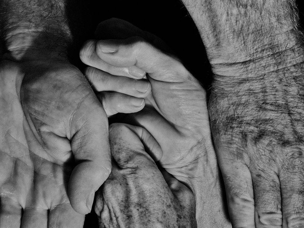 Hands of Ford and Melinda Evans No. 3