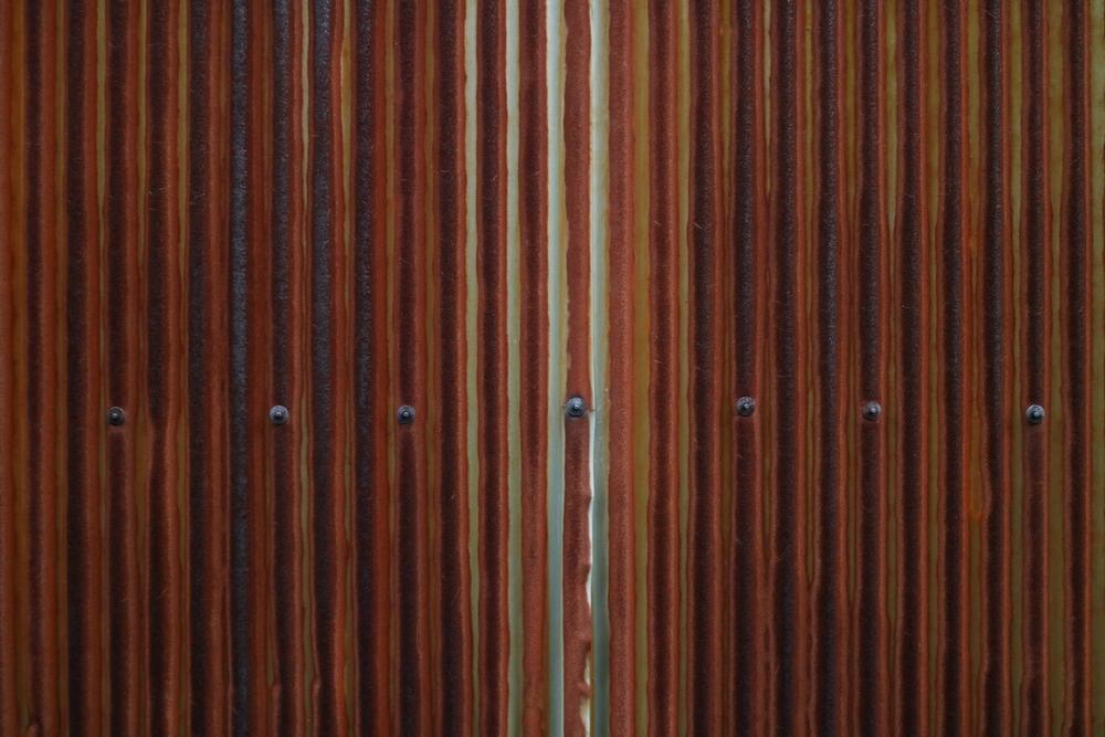 Corrugated Wall, Kyoto