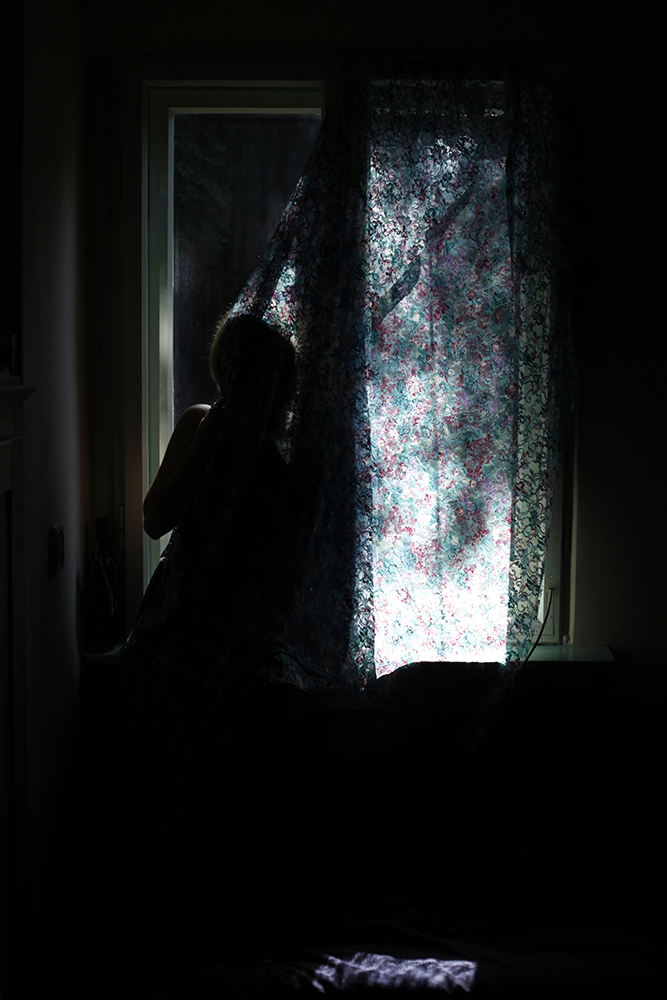 The Woman at the window No. 2