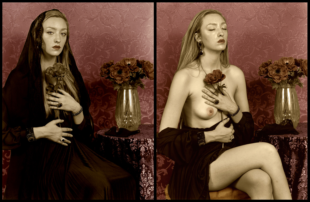 Mourning Portrait Diptych