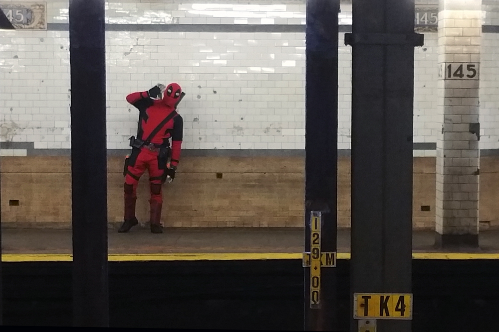 Deadpool, West 145th Street Subway