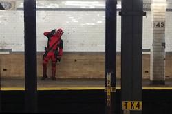 Deadpool, West 145th Street Subway