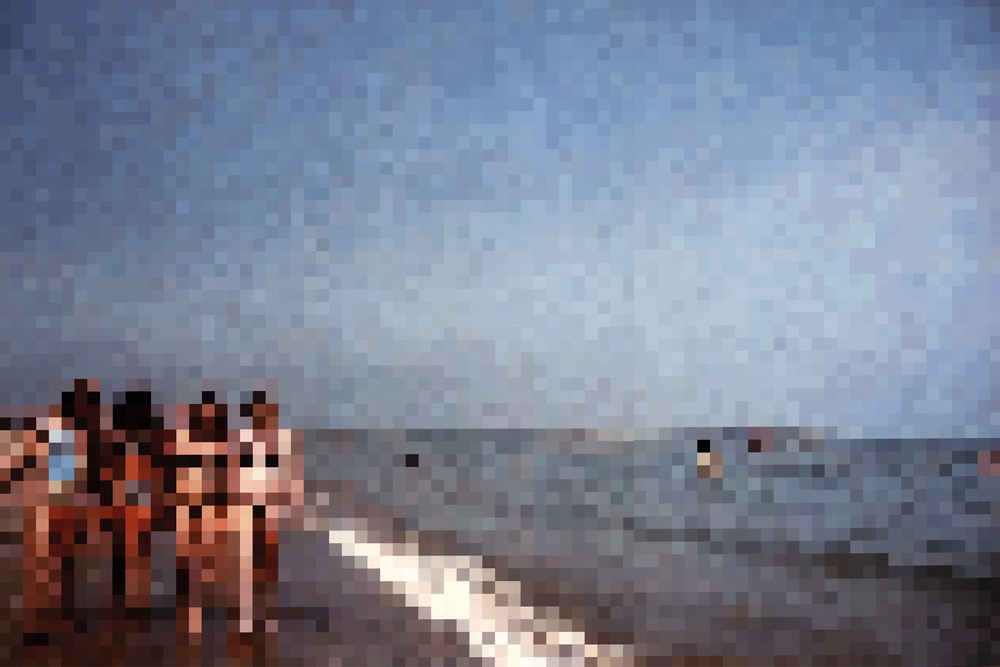 Four Girls On the Beach, Venice