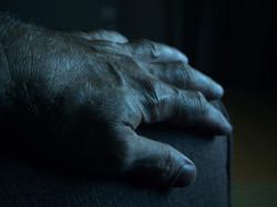 TV Lighting My Hand In Darkness