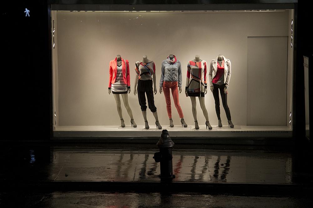 Five Mannequins