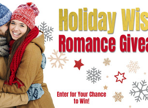 HOLIDAY WISHES ROMANCE GIVEAWAY  December 5-25