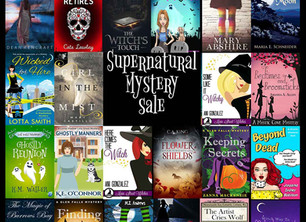 Paranormal and Fantasy Book Sale