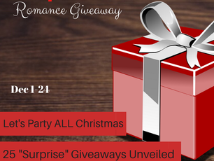 25 Days of Christmas FREE romance book GIVEAWAY