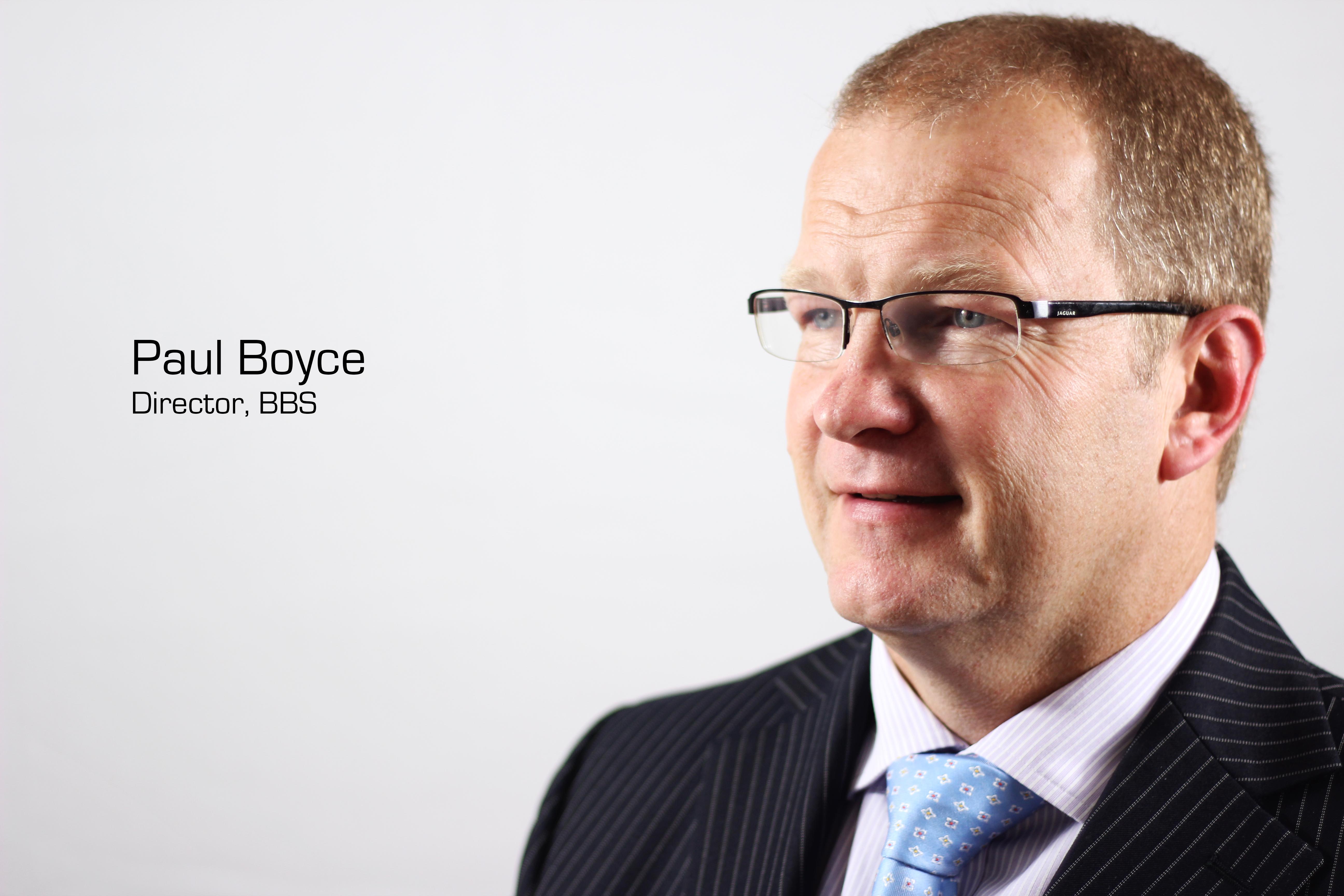 Paul Boyce Profile Shot