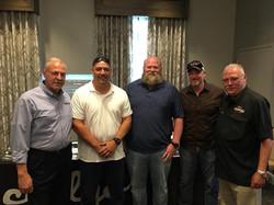 with Scott Zereaux, William J Garbo and