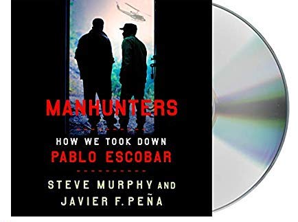 Manhunters Book and Audio CD
