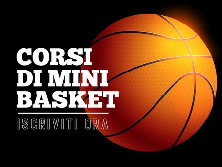 Corsi di Minibasket