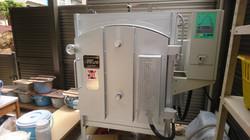 酸化焼成/還元焼成が可能な窯