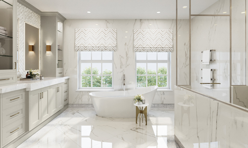 Master Ensuite | Oakwood Lodge | The Spinney