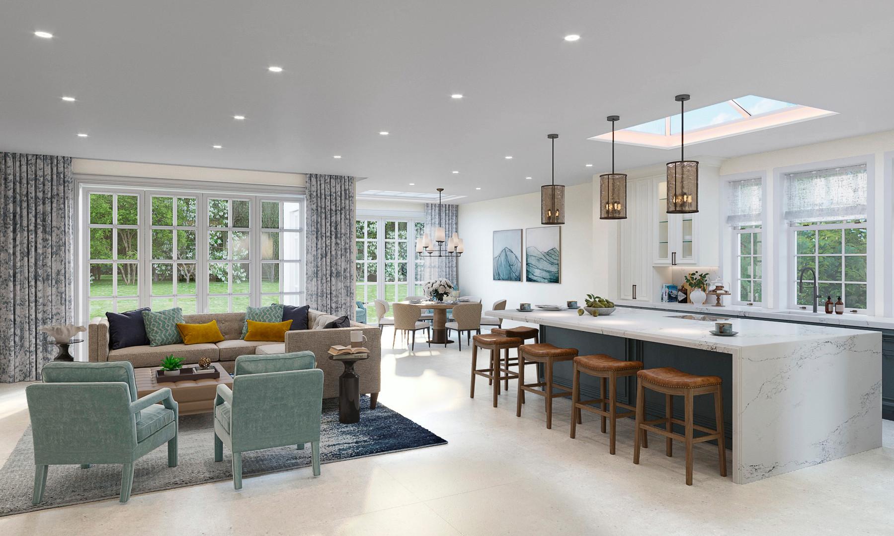 Kitchen _ Oakwood Lodge _ The Spinney