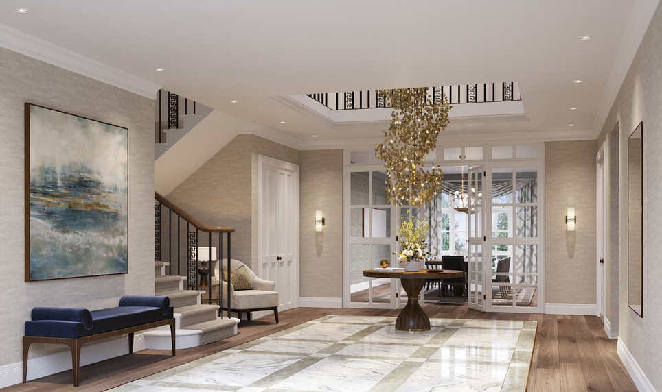 Entrance Hall | Oakwood Lodge | The Spinney