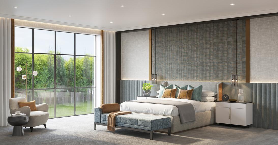Master Bedroom _ Foxside House