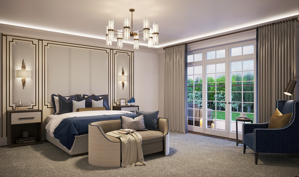 Master Bedroom | Oakwood Lodge | The Spinney