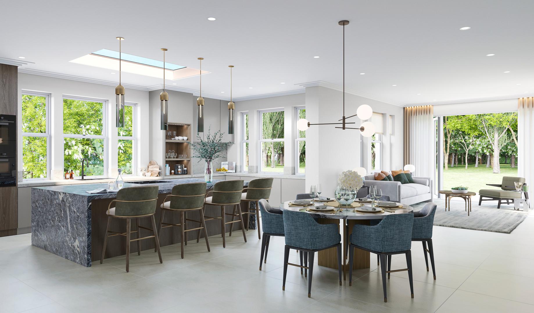 Kitchen _ Foxside House