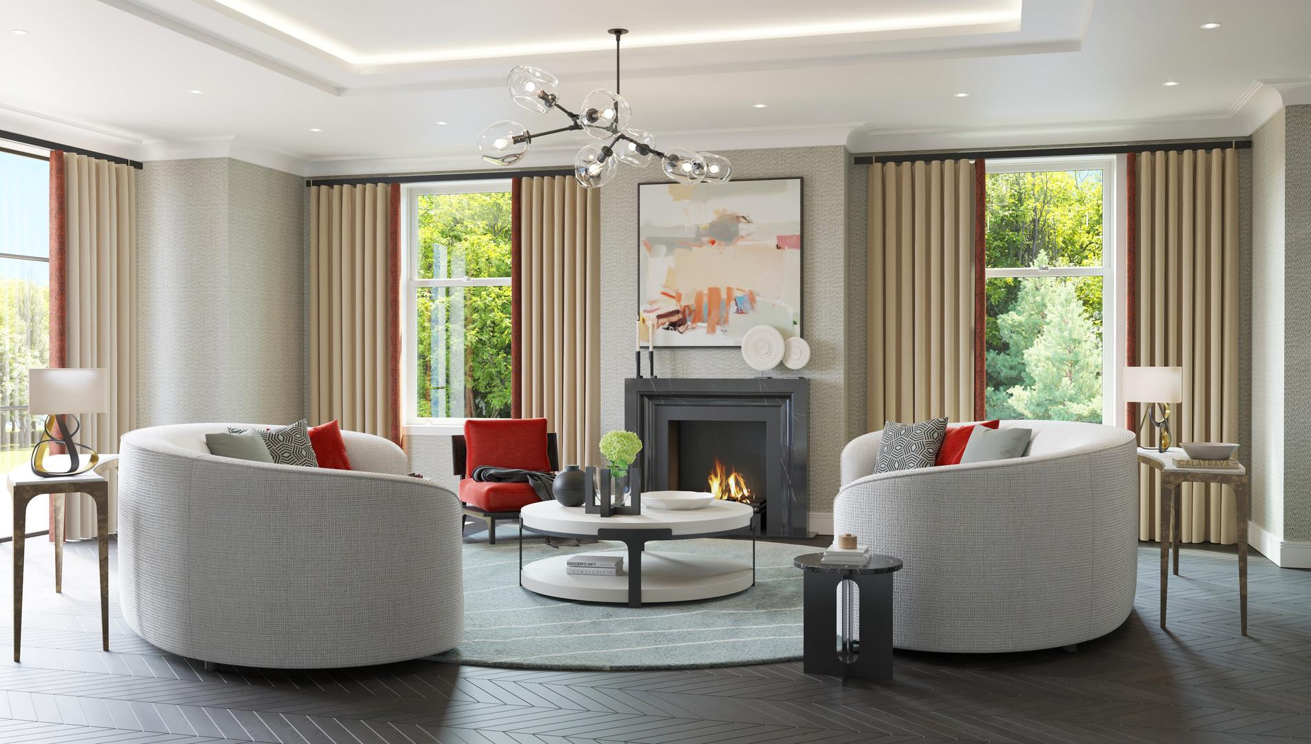 Reception Room _ Foxside House
