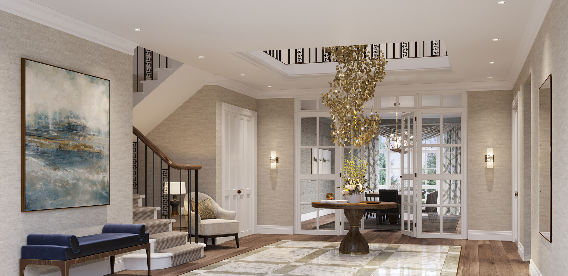 Entrance Hall _ Sunningdale Development