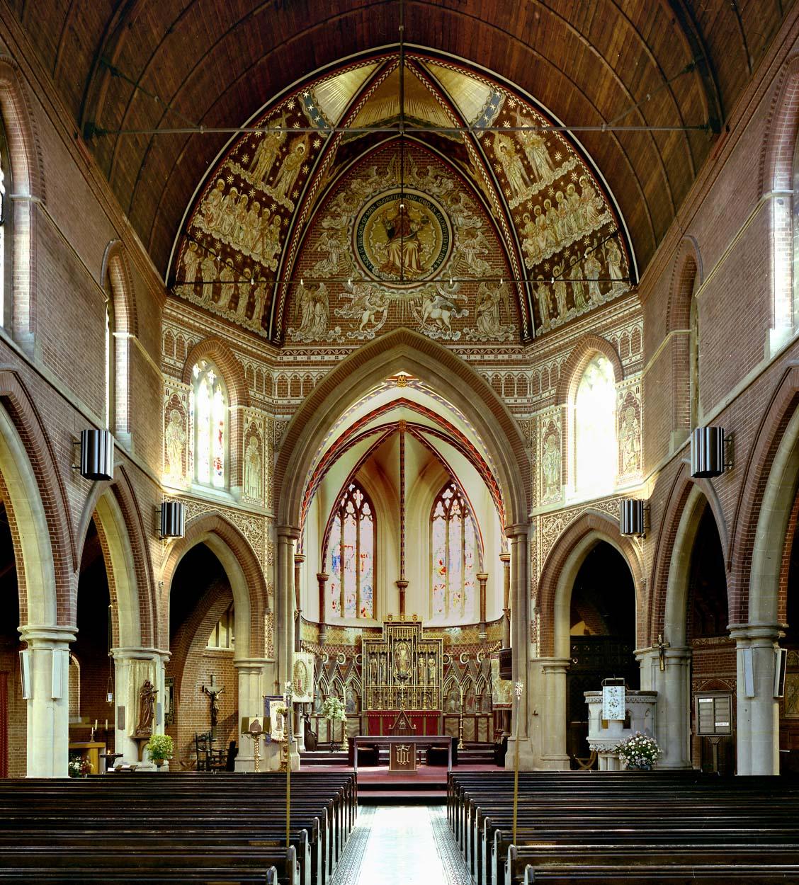 Axial view of nave ©John Crook