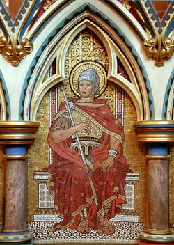 St Cornelius mosaic ©John Crook