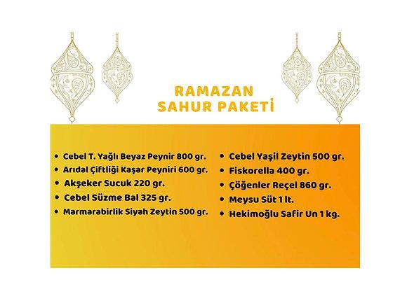 RAMAZAN SAHUR PAKETİ