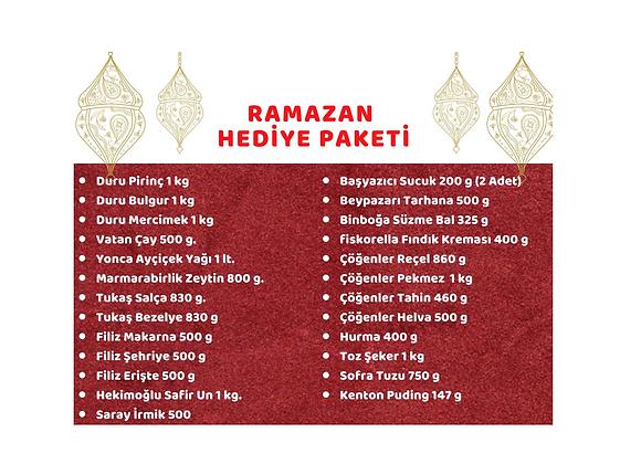 RAMAZAN HEDİYE PAKETİ