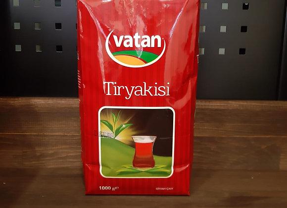 VATANÇAY TİRYAKİSİ SİYAH ÇAY 1000 GR.