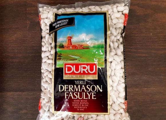 DURU YERLİ DERMASON FASULYE (8MM) 1000 GR.
